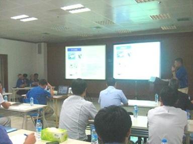 中国工場品質会議の様子