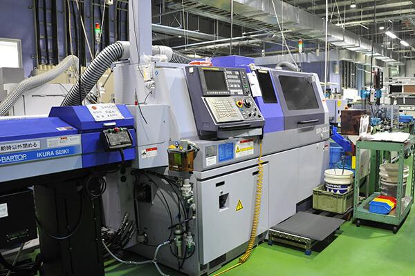 CNC旋盤(バー材加工機)