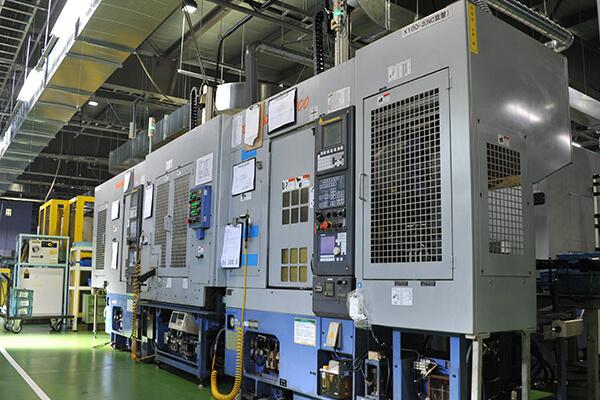 CNC旋盤(ブランク材、鍛造材加工機)