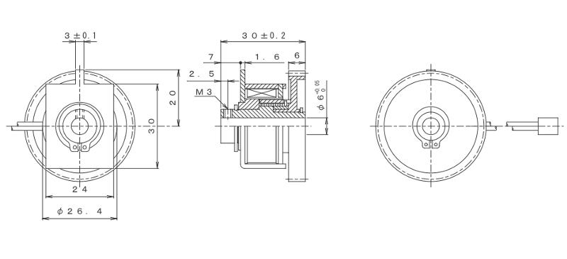 MGSCC-30外形寸法図