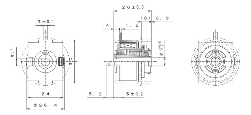 MGSCO-30S外形寸法図