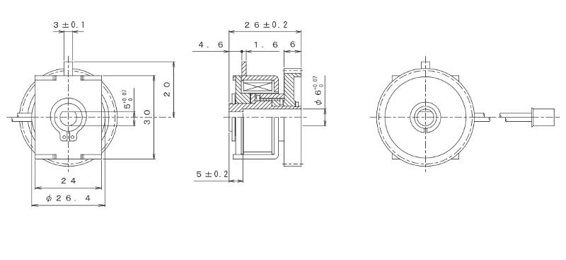 MGSCO-30Z外形寸法図