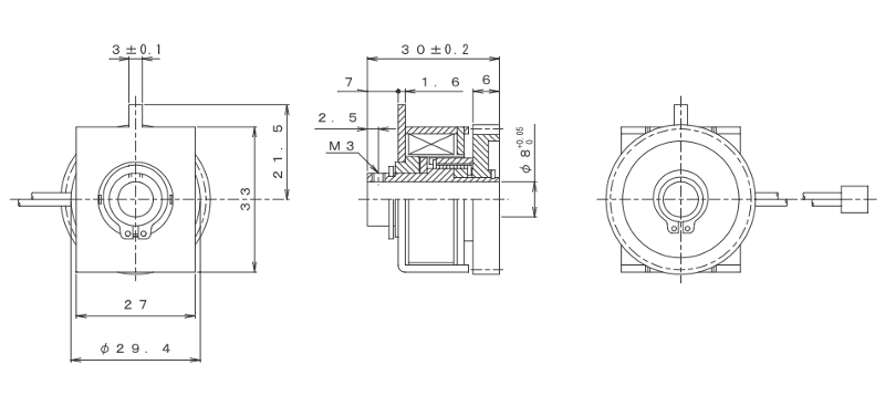 MGSCO-33J外形寸法図