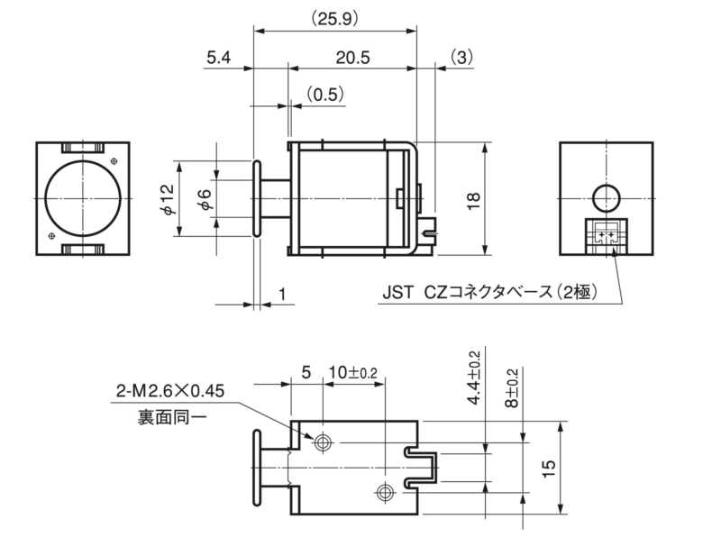 TMS-06S外形寸法図